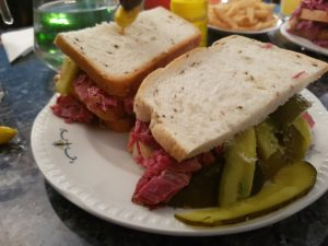 I Think It Went Down Well And To Celebrate In The Most Jewish Fashion Of All I Headed To Reuben S Deli In Baker Street For A Hot Salt Beef Sandwich