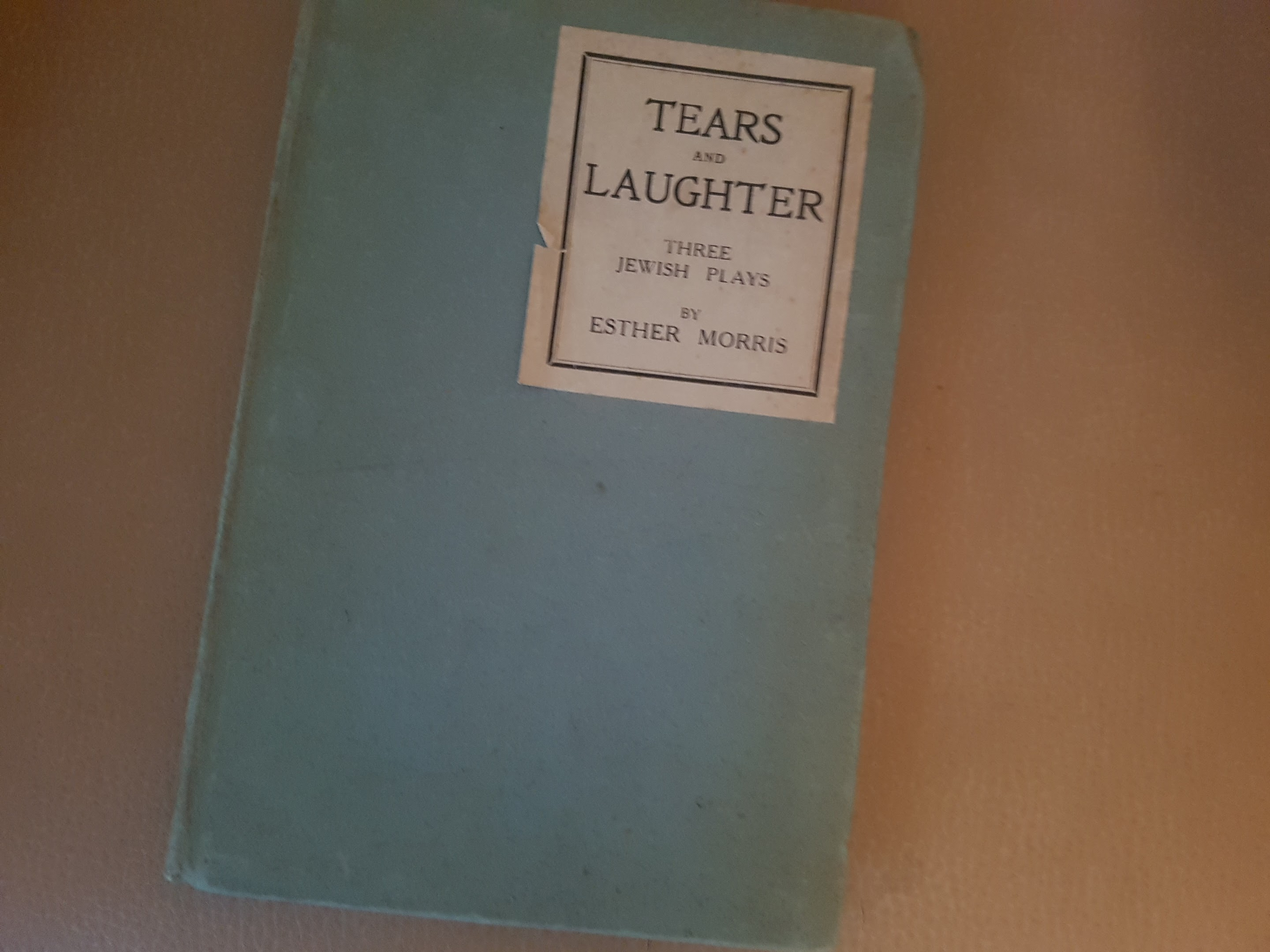 Tears of Laughter – My great grandmother's book