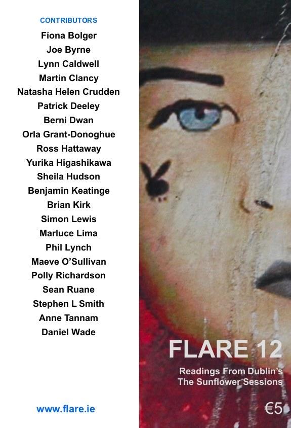 Poem published in Flare 12